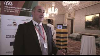 Paul Corcoran, Nord Stream 2 AG, Russian Energy Forum 2016, London