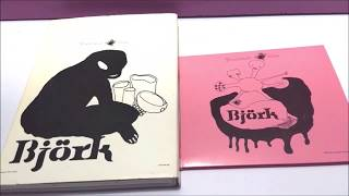 Bjork - Greatest Hits CD + Greatest Hits Volumen 1993 - 2002 DVD UNBOXING