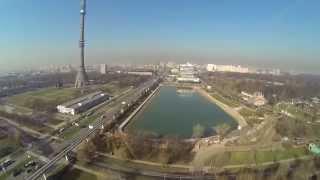 Полет над Останкинской башней на коптере