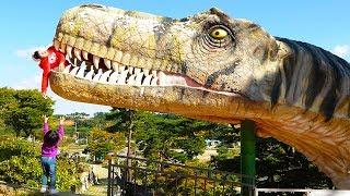 보람이의 쥬라기공원 테마파크 놀이 Boram and Dinosaur Museum