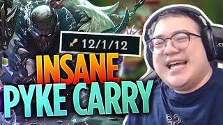 PYKE IS INSANE! - Pyke Hard Carry