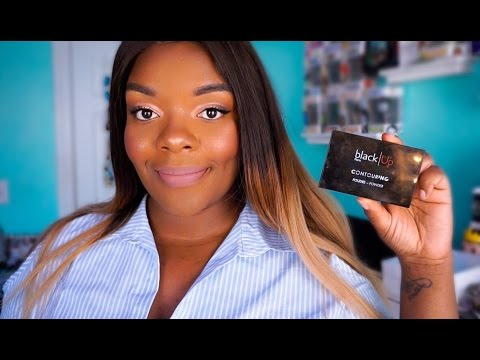Octoly| blackUp Contour Powder Review