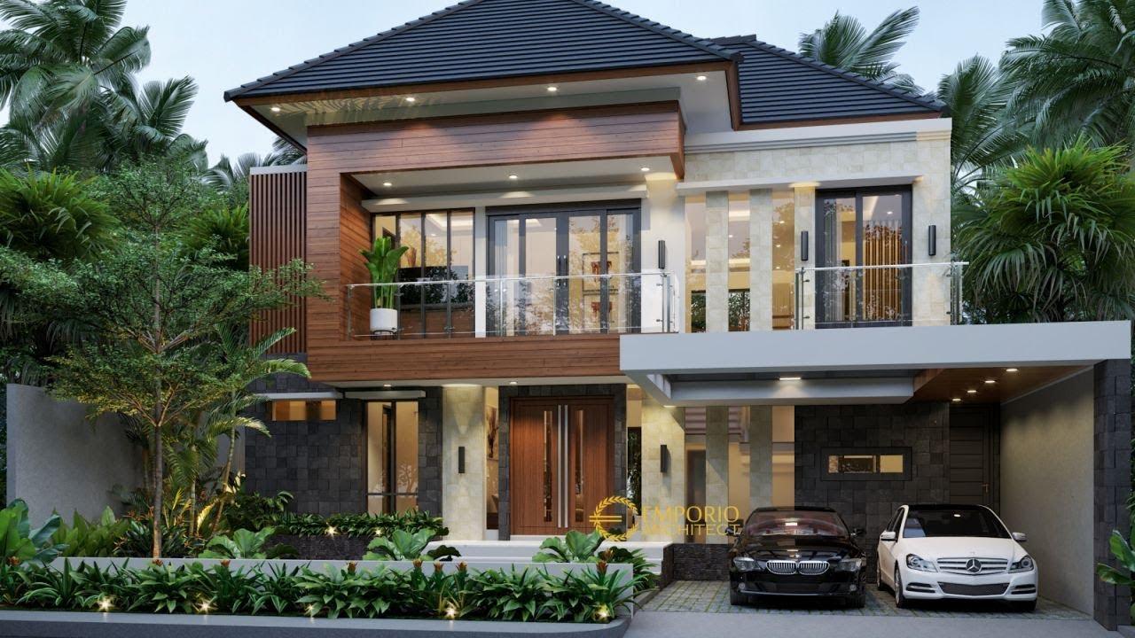Video 3D Desain Rumah Modern 2 Lantai Bapak Yadi di Bontang, Kalimantan Timur