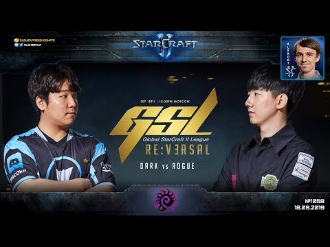 GSL CodeS PLAYOFF: Полуфинал Dark (Z) vs Rogue (Z) - Global StarCraft II League 2019 Season 3