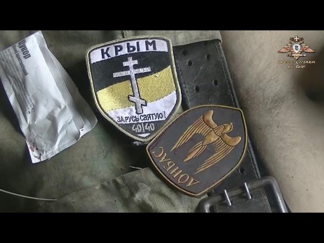 Трупы украинских боевиков доставлены в горловский морг (ВИДЕО 18+)