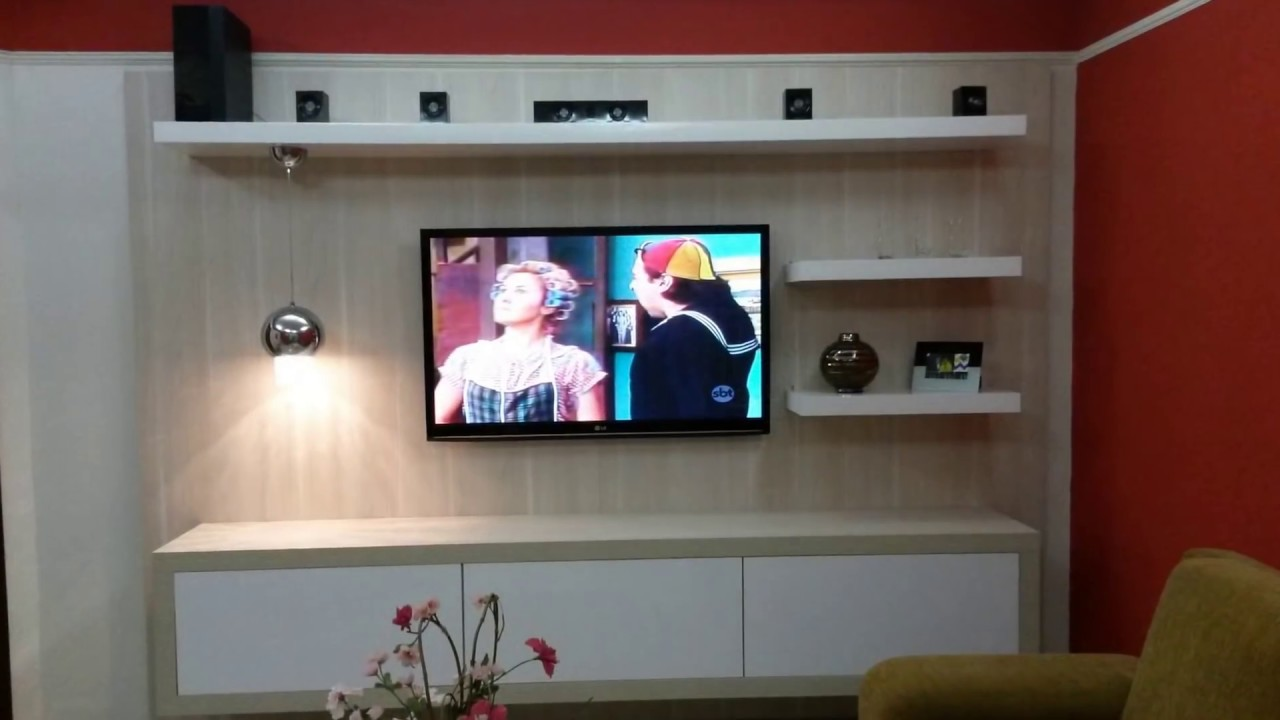 Painel de TV Sob Medida - Serviços Entregues