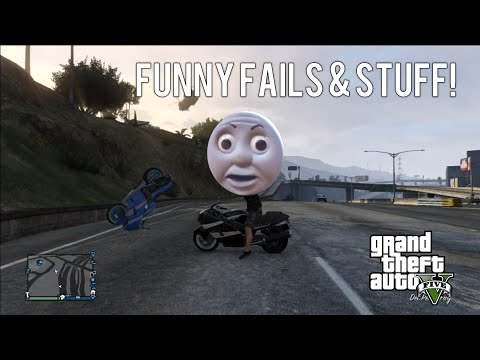 GTA 5 - Funny Fails And Stuff #5