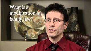 What Is A Modification In Family Law?