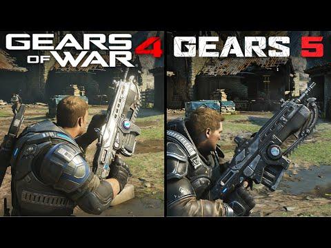 Gears 5 vs Gears of War 4 | Direct Comparison