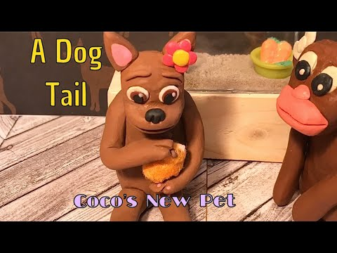 "🐾A Dog Tail (Episode 10) ""Coco's New Pet""🐾🐶🐹"