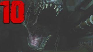 Giant GATOR Boss Fight! - Resident Evil 2 Remake Full Walkthrough Part 10 (RE2 Leon)
