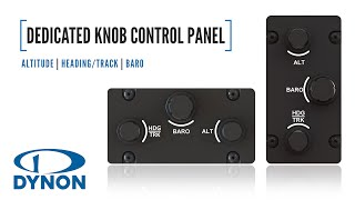 RV Aircraft Video - Dedicated Knob Control Panel