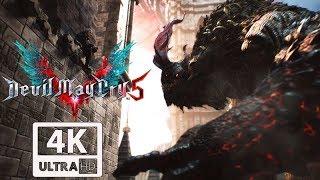 DEVIL MAY CRY 5 GOLIATH Boss Fight 4K 60FPS UHD Xbox One X Enhanced