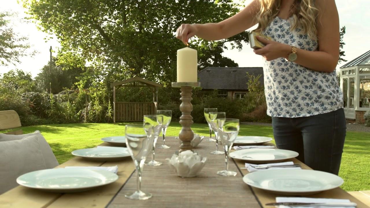 Blakemere Garden Table & Bench Set