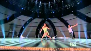 Amy and all star Robert  So you think you can dance season 10 top 4