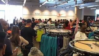 Nike Store Visit San Leandro