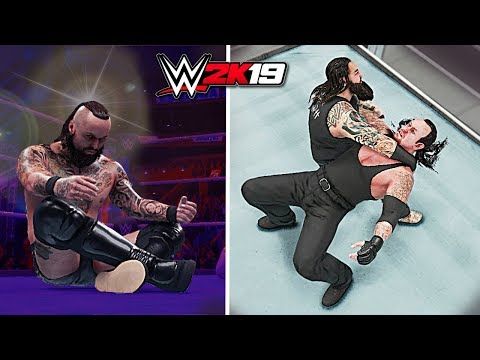 WWE 2K19 Top 10 Double Blackout Finishers Outta Nowhere!!