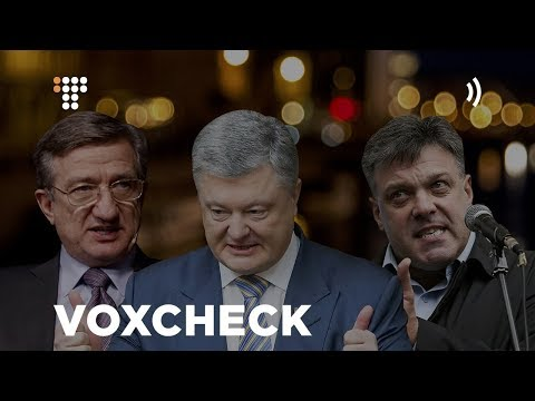 Фото VoxCheck: Тягнибок, Порошенко, Тарута  про НАТО