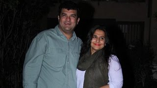 Vidya Balan and hubby Siddharth Roy Kapur head out for a party