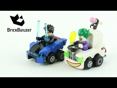Vidéo LEGO DC Comics Super Heroes 76093 : Mighty Micros : Nightwing contre Le Joker