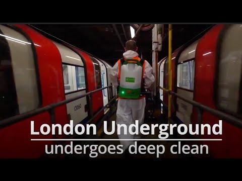 Banksy's Latest London Underground Works