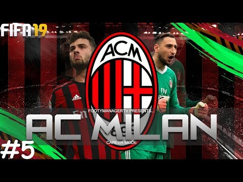 EUROPA LEAGUE BEGINS! | FIFA 19 Career Mode: AC Milan #5