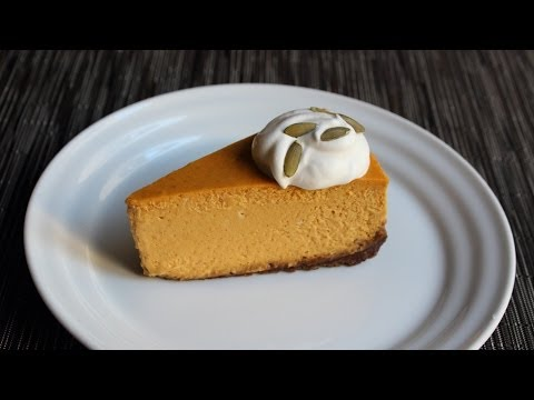 Pumpkin Cheesecake Recipe – How to Make Pumpkin Cheesecake