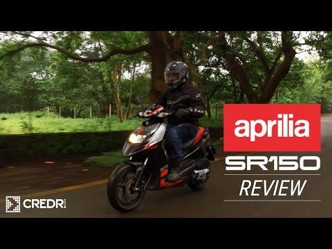 Aprilia SR 150 Video Review: Fastest Scooter || Aprilia Bike SR 150 Top Speed || CredR