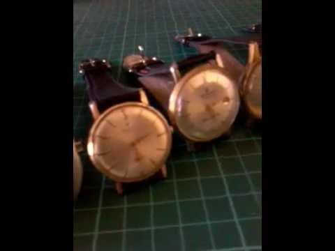 6 relojes  swiss made
