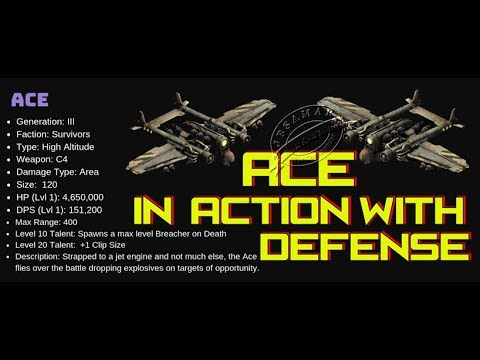 War Commander : Ace in Action With Full Defense