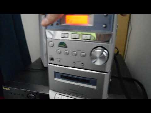SONY HCD-EP313 MD IN Jack Test