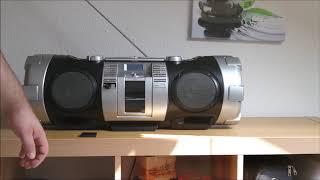 JVC Ghettoblaster RV-NB50 Boombox,Ghettoblaster