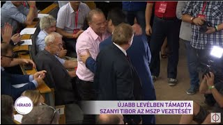Újabb Levélben Támadta Szanyi Tibor Az MSZP Vezetését