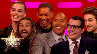 The BEST Of The DC Universe On The Graham Norton Show
