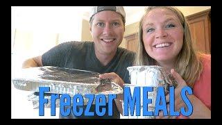 4 EASY FREEZER MEALS | MAKE AHEAD MEALS