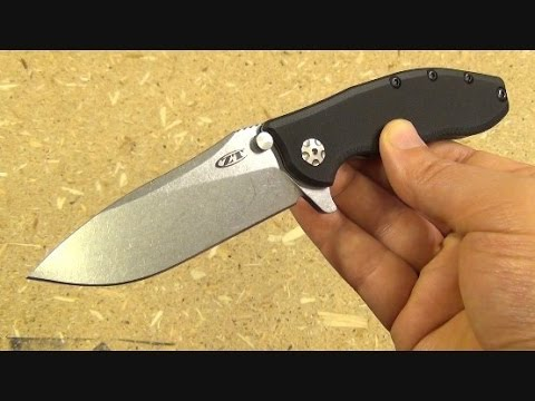 Zero Tolerance 0562 Folding Knife Review, Hinderer Design