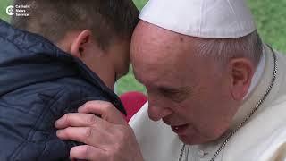 Little Boy Asks Pope Francis: 'Is My Dad In Heaven?'