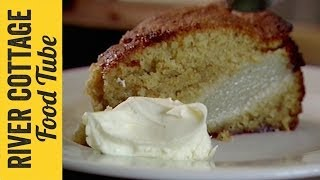 Pear & Almond Pudding Cake Recipe | Hugh Fearnley-Whittingstall