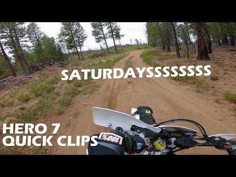 Saturday Short // Hero 7 Testing // Single Track and Back Roads