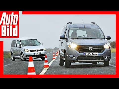 VW Caddy vs. Dacia Dokker - Billiger aber genauso gut?