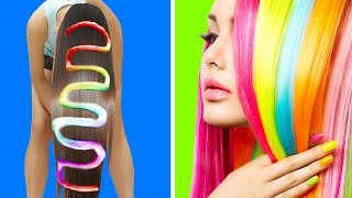 31 COLORFUL HAIR HACKS FOR A FLAWLESS LOOK