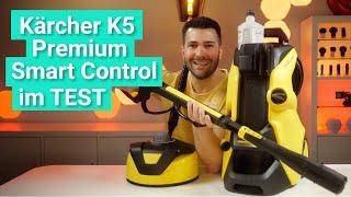 Kärcher K5 Premium Smart Control Home im Test - Kärchern mit Display und Smartphone App!