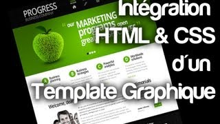 [TUTO] Intégration HTML & CSS d'un template Photoshop