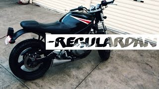 Suzuki GS500 Existing seat modification | DIY