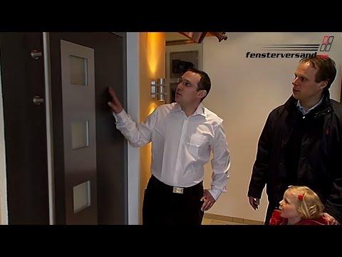 Haustüren aus Alu, Holz und Kunststoff - Produktvideo - fensterversand.com TV