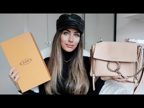 FIRST LUXURY HAUL OF 2018 | BALMAIN, CHLOE, TODS, | Lydia Elise Millen