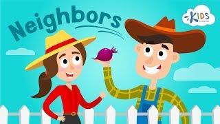 What is a Neighbor Social Studies for  Kindergarten | Kids Academy