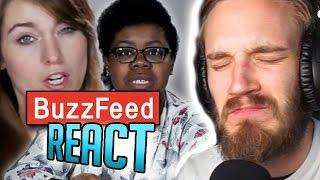 PEWDIEPIE REACTS TO BUZZFEED REACTING TO PEWDIEPIE (PewDiePie React)