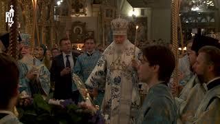 Патриарх Кирилл совершил богослужение в канун праздника Казанской иконы