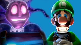 ОТЕЛЬ ПРИЗРАКОВ #4 БОСС приведение  и ГУИДЖИ в игре Luigi's Mansion 3